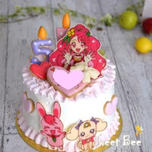 女の子のケーキ~(⋈◍>◡<◍)。✧♡