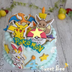 pokeケーキ色々~①