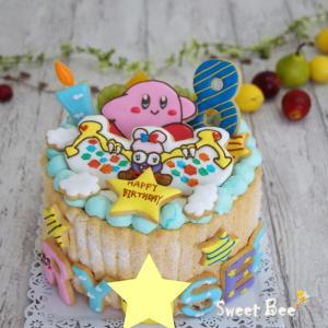 ゲームキャラのケーキ☆