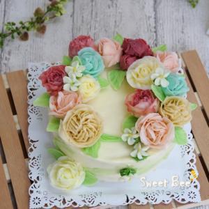 フラワーケーキ~♡