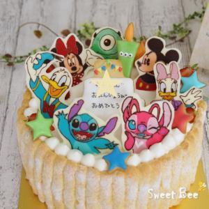 ディズニーなケーキ♡