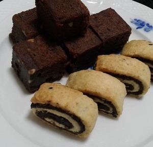 サバイバルTOKYO  駱駝のミルクのブラウニー  シリア料理 ゼノビア東京 中野