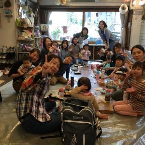 【レポ】1/26(日)【HapinessKidsart】×【彩りyoga】のアート体験付ランチ会