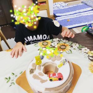 息子5歳の誕生日