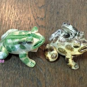 名古屋の郷土玩具 戸部蛙