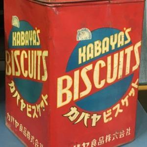 カバヤ ビスケットの古い缶