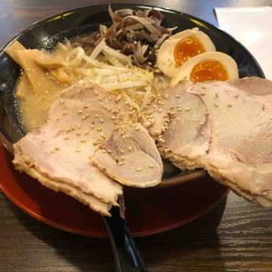 ラーメン日記 熟成豚骨ラーメン まるきん 愛川店