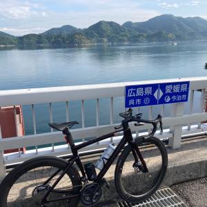 新車TARMAC SL7で安芸灘とびしま海道で愛媛との県境まで!