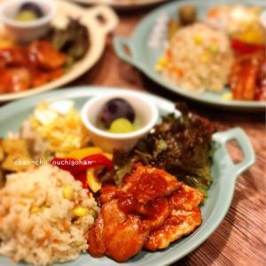 【レシピ】こくうまソースでご飯がススム♪豚ヒレ肉のBBQソース♡ と 週末の甘やかしご飯。