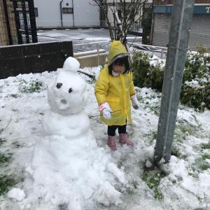 ♪横浜も雪景色です♪