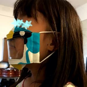 第2弾!透明マスクが届きました☆