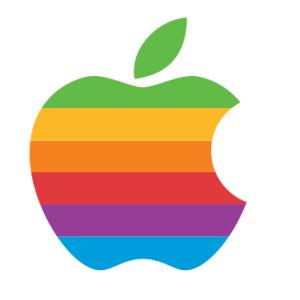 アップル社のマークを私の好きな果物に置き換えてみた