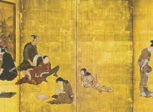 「国宝彦根屏風と国宝松浦屏風」 *大和文華館