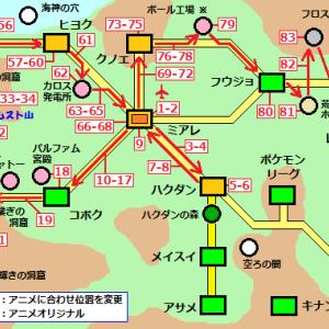 ポケモンXYZ感想−119話目 【 暫定 】