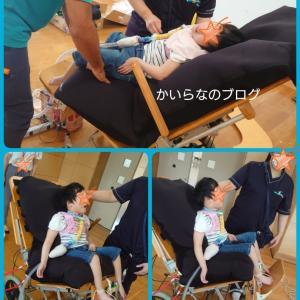学校用車椅子修理 採型