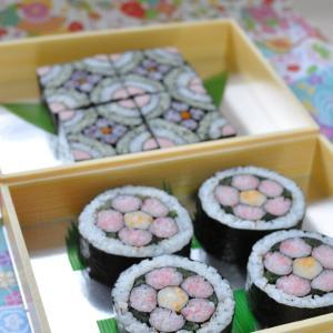 飾り巻き寿司の差し入れ~
