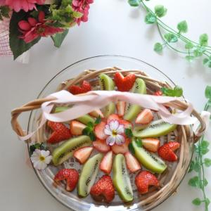 イチゴとキウイフルーツ