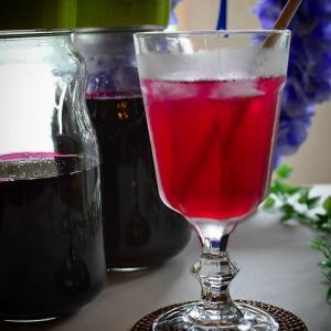 爽やかな味わい~♪赤紫蘇ジュース