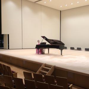 ホールでピアノを弾くことの大切さ