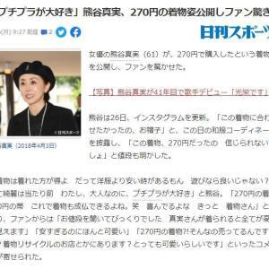 Yahoo!ニュースに載っちゃった!浜松のリサイクルショップは、こちらです!【熊谷真実さん来店】