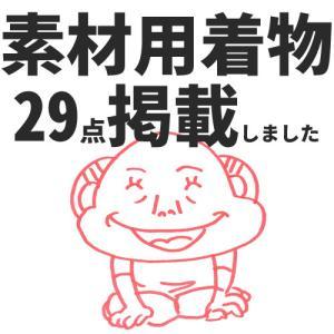【8/24掲載】素材29点・色無地6・袋帯4点・ポッキリ価格紬6点追加しました!