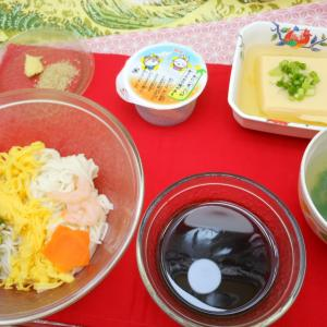 七夕のお食事