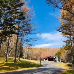八ヶ岳高原ロッジへ紅葉狩り
