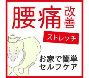 お家で簡単セルフケア☆腰痛改善ストレッチ