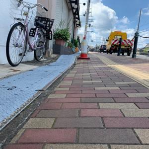 大阪南医療センター アクセス歩道補修工事完了。市民相談 河内長野市