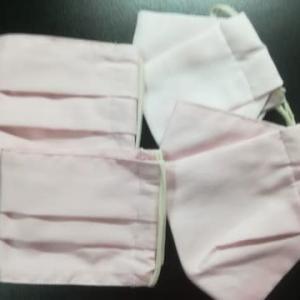 ピンクのマスク