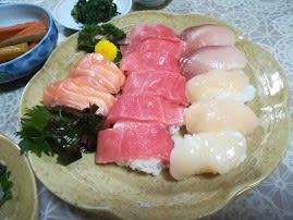 握り寿司を作りました