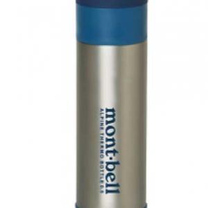 モンベルの水筒の保温能力が凄くて、愛用。