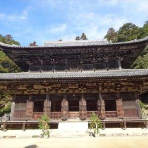 姫路の書写山の圓教寺に初詣。