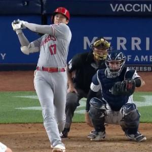大谷翔平が2連発で本塁打王争いで両リーグ単独トップに。 化け物だね。