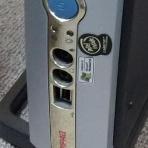 CompaqのPCからHDDを取り外して、廃棄する。