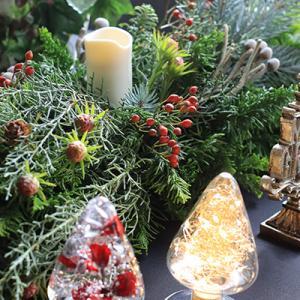 クリスマステーブル展示♪