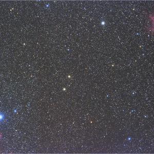 NGC 281&ツィー:2度と使わない構図シリーズNo.3