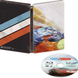「フォードvsフェラーリ」スチールブック仕様 Amazon.co.jp限定で5月2日発売!