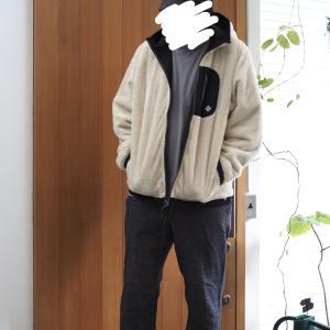 リバーシブルボアジャケット着画&お買い物マラソンポチレポ。