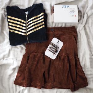 ZARAセールで買った子供服♪ & シルバーのウェーブリング