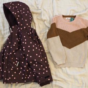 H&Mセールで買った子供服と、楽天ポチレポ。& タワー型加湿器