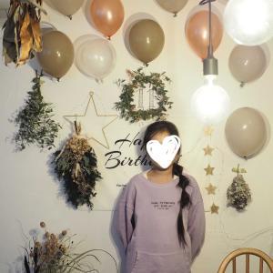娘11歳の誕生日。我が家のおうちパーティー♪