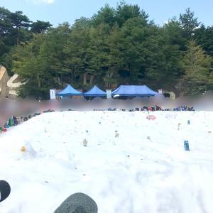 六甲山 真夏の雪祭り & スーパーSALEで子供服をポチ!