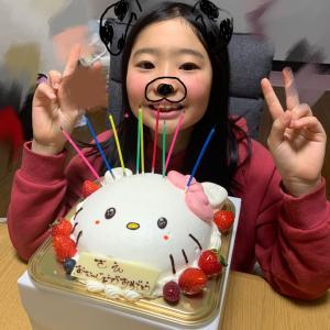 次女誕生日♪セルフホワイトニングで簡単美歯だケア♫