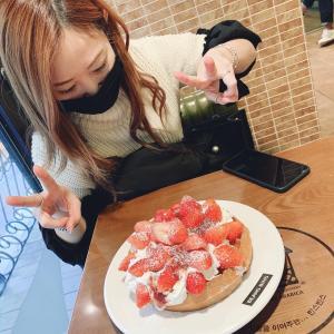 【韓国】苺★タピ★肉