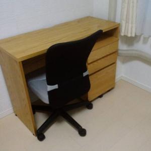 机を設置~かなりうれしい!