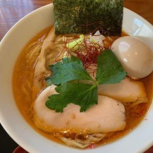 鶏辛白湯★麺SAMURAI桃太郎