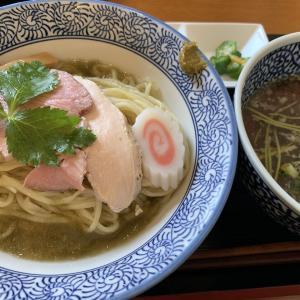 鶏はまぐりつけ麺★麺SAMURAI桃太郎