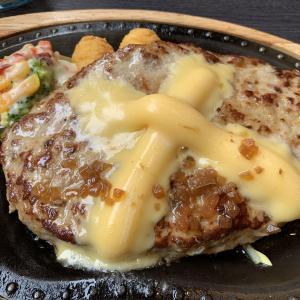 チーズバーグステーキ★びっくりドンキー