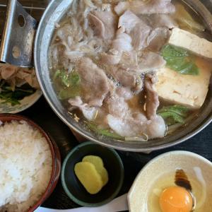 肉鍋定食★新茶屋